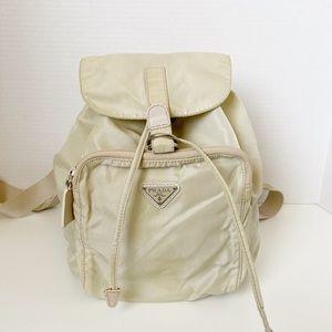 Authentic Prada vela tessuto nylon mini backpack